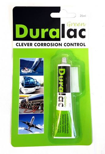 Duralac Green 25ml Tube Duralac Anti Corrosive Compound for Stainless and Aluminium